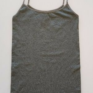 Be Maternity Cami Tank Top Seamless Grey size S